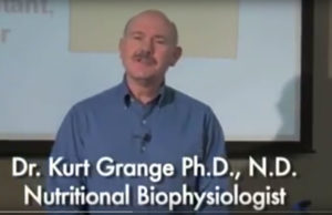 Dr. Kurt Grange, Ph.D., N.D is a nutritional biophysiologist