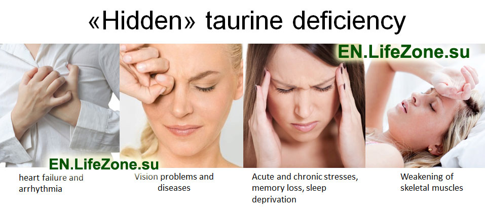 Hidden-taurine-deficiency