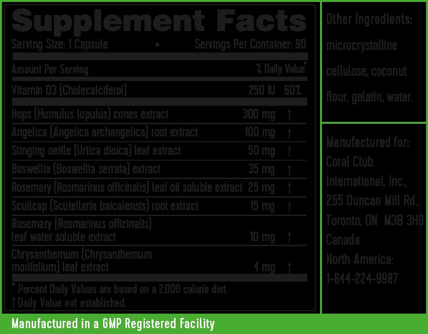 InflaCor ingredients